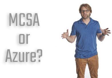 Vì sao Microsoft thay thế MCSA bằng Azure?